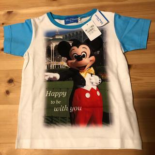 Disney - 新品☆100センチ ミッキー実写Tシャツ