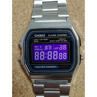 カシオ(CASIO)の【ポイズンカラー】チープカシオ腕時計 A158W-1JF(腕時計(デジタル))