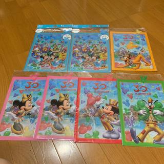 Disney - ディズニー クリアファイル 30周年