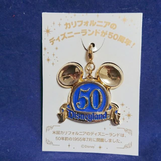 Disney(ディズニー)のディズニーランド カルフォルニア50周年 来園特典 非売品 ピンバッジ 未開封 エンタメ/ホビーのおもちゃ/ぬいぐるみ(キャラクターグッズ)の商品写真