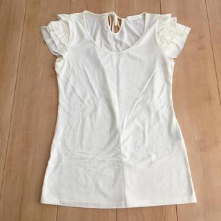 ココディール(COCO DEAL)のCOCODEAL  ココディール 肩フリル  Tシャツ(Tシャツ(半袖/袖なし))
