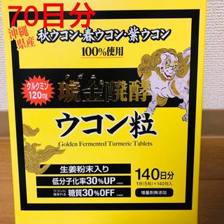 コストコ - クガニ発酵ウコン ウコン 70日分 新品