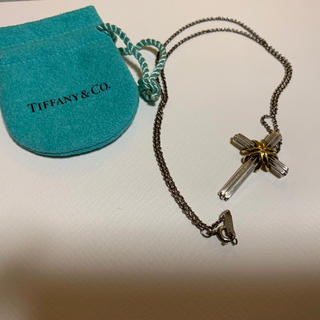 ティファニー(Tiffany & Co.)のティファニー クロス コンビ ネックレス A4(ネックレス)