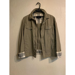 バーバリーブラックレーベル(BURBERRY BLACK LABEL)の90s BURBERRY BLACKLABEL Military Jacket(ミリタリージャケット)