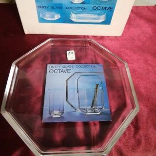 トウヨウササキガラス(東洋佐々木ガラス)の佐々木硝子 オクターブシリーズ 取り皿4枚セット(食器)