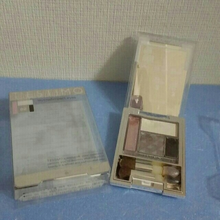 カネボウ(Kanebo)の【used】カネボウ テスティモ レイヤードインパクトアイズ02グレー系(アイシャドウ)