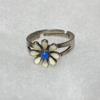 ロキエ(Lochie)のvintage フラワー  花 リング 指輪(リング(指輪))
