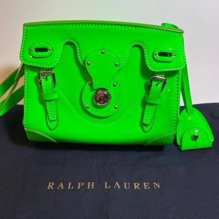 ラルフローレン(Ralph Lauren)の美品 RALPH LAUREN リッキーバック 2way ショルダー 袋付(ショルダーバッグ)
