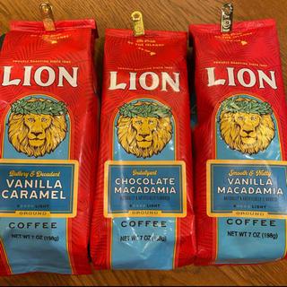 ライオン(LION)のお得‼️3種• Lion Coffee ライオンコーヒー フレーバーコーヒー(コーヒー)