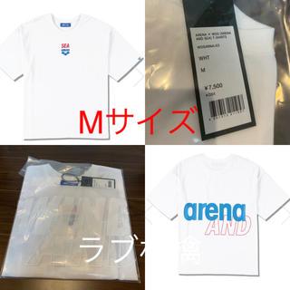 シー(SEA)のウィンダンシー ARENA × WDS コラボ Tシャツ ホワイト M (Tシャツ/カットソー(半袖/袖なし))