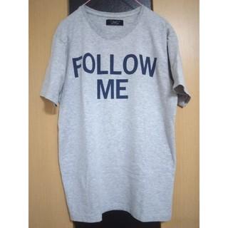 ZARA - 【古着・美品】ZARA メンズTシャツ『 FOLLOW ME』   ザラTシャツ