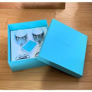 Tiffany & Co. - ◆再値下げ◆ティファニー☆ペアグラス フローレット ワイングラス