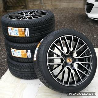 ポルシェ(Porsche)のポルシェ カイエン 955 957 958 20インチ 新品4本タイヤとホイール(タイヤ・ホイールセット)