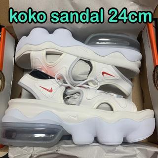 NIKE - 白24cm ナイキ エアマックス ココサンダル KOKO SANDAL 2