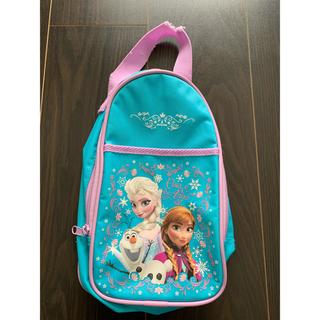 ディズニー(Disney)のアナと雪の女王★靴バッグ(ビニール)(シューズバッグ)