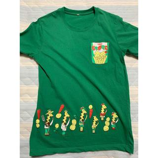 カルビー(カルビー)のじゃがりこ Tシャツ 古着 L(Tシャツ/カットソー(半袖/袖なし))