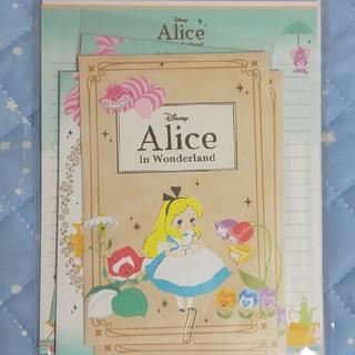 ディズニー(Disney)のディズニー  レターセット 不思議の国のアリス(カード/レター/ラッピング)