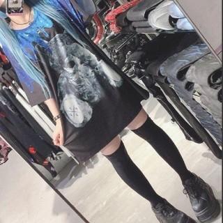 ミルクボーイ(MILKBOY)のTRAVAS TOKYO✨宇宙柄どろどろたれくまTシャツ(青✨トラバストーキョー(Tシャツ(半袖/袖なし))