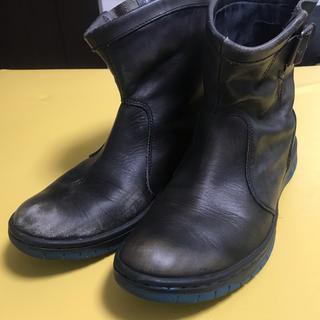 ディーゼル(DIESEL)のDIESEL(ディーゼル) レザーショートブーツ 26.5cm(ブーツ)