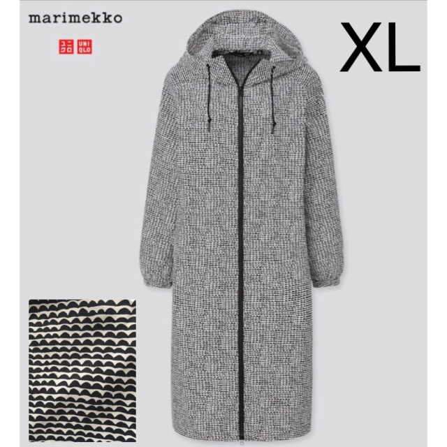 marimekko(マリメッコ)のマリメッコ ✖️ ユニクロ ポケッタブル レイン パーカ 日本未発売  レディースのジャケット/アウター(ナイロンジャケット)の商品写真