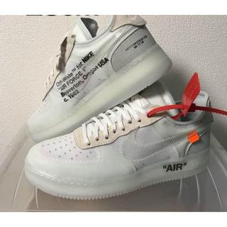 OFF-WHITE - 26CM THE 10 OFF WHITE × NIKE AIR FORCE 1
