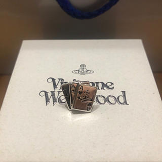 ヴィヴィアンウエストウッド(Vivienne Westwood)のヴィヴィアンウエストウッド トランプカード オーブ ピアス(ピアス(片耳用))