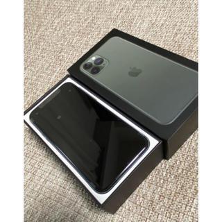 Apple - iPhone11 pro 256GB ミッドナイトグリーン 本体