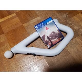 プレイステーションヴィーアール(PlayStation VR)のPSVRシューティングコントローラー+FARPOINT(家庭用ゲームソフト)