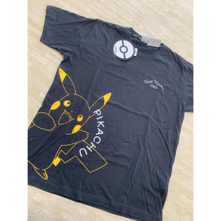 シマムラ(しまむら)のしまむら ピカチュウ Tシャツ サイズLL  ポケモンコラボ(Tシャツ/カットソー(半袖/袖なし))