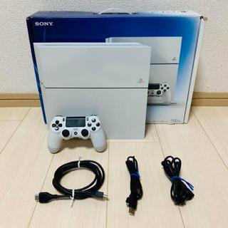 PlayStation4 - 【美品】PS4本体 ホワイト