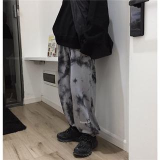 189 【今季トレンド☆】 履き心地抜群★ タイダイ柄 ジョガーパンツ