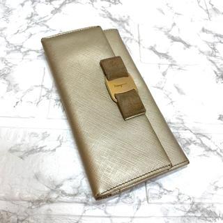 Salvatore Ferragamo - 正規品、サルヴァトーレフェラガモ長財布、即日発送❗️