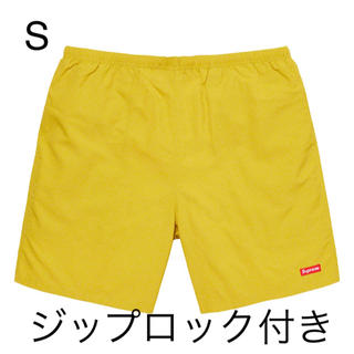 シュプリーム(Supreme)のSupreme nylon water short light gold S(水着)