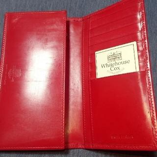 ホワイトハウスコックス(WHITEHOUSE COX)の新品 未使用 ホワイトハウスコックス長財布 メンズ レディース(長財布)
