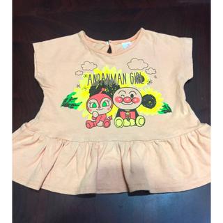 バンダイ(BANDAI)のアンパンマン Tシャツ チュニック 90(Tシャツ/カットソー)