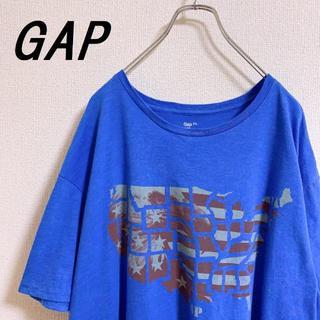 GAP - 【GAP】星条旗 ホークプリント ビッグシルエット Tシャツ