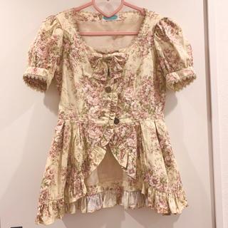 ヴィクトリアンメイデン(Victorian maiden)のVictorian maiden トップス ジャケット 生成 薔薇(その他)