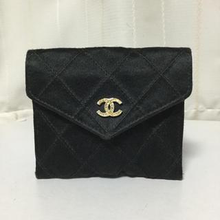 CHANEL - シャネル ビジュー ストーン コインケース 財布 バッグ