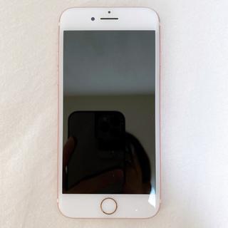 iPhone - 【美品】iPhone7 本体 ローズゴールド 128GB docomo
