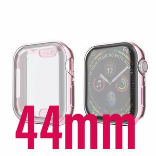 アップルウォッチ(Apple Watch)のApple Watch 4 5 6 SE 44mm ケース ローズゴールド(腕時計(デジタル))