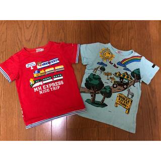 mikihouse - ミキハウス ダブルビー エクスプレス Tシャツ、リゾート  Tシャツ(100)