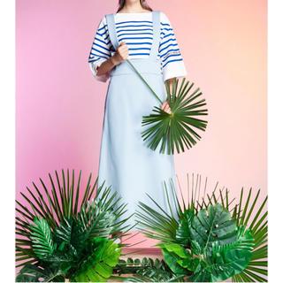 ダブルスタンダードクロージング(DOUBLE STANDARD CLOTHING)のジャンパー スカート 38 20ss(ロングワンピース/マキシワンピース)