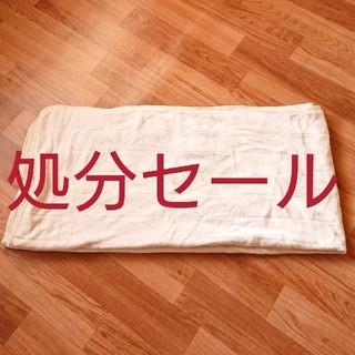 ニトリ(ニトリ)の最終処分セール❗即購入OK❗マイクロファイバー 敷パッド カバー  シングル(シーツ/カバー)