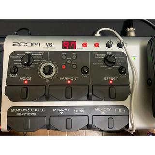 【美品】ZOOM V6 ボーカルエフェクター (エフェクター)