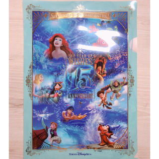 Disney - ディズニー 15周年 クリアファイル ファイル