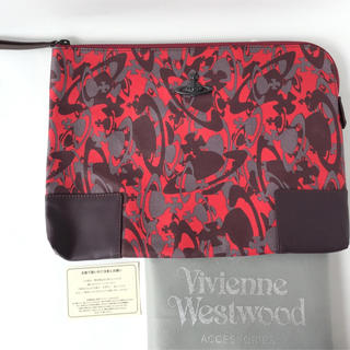 ヴィヴィアンウエストウッド(Vivienne Westwood)のヴィヴィアン クラッチバッグ カモフラ 迷彩 ウォーター ORB シリーズ(セカンドバッグ/クラッチバッグ)