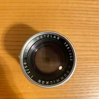ライカ(LEICA)のLeica summicron 50mm f2 固定鏡胴 ズミクロン(レンズ(単焦点))