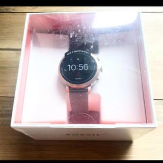 フォッシル(FOSSIL)の新品未使用 Fossil スマートウォッチ FTW6016 グレー(腕時計)