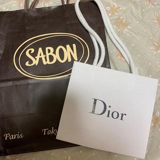 ディオール(Dior)のショップ袋 セット(ショップ袋)