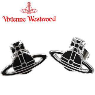 ヴィヴィアンウエストウッド(Vivienne Westwood)のVivienne Westwood ピアス ヴィヴィアン ケイトピアス ブラック(ピアス(片耳用))
